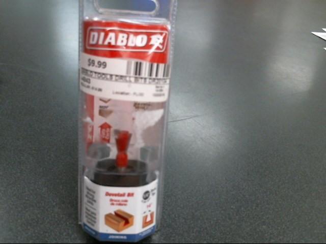 DIABLO TOOLS Drill Bits/Blades DR20104
