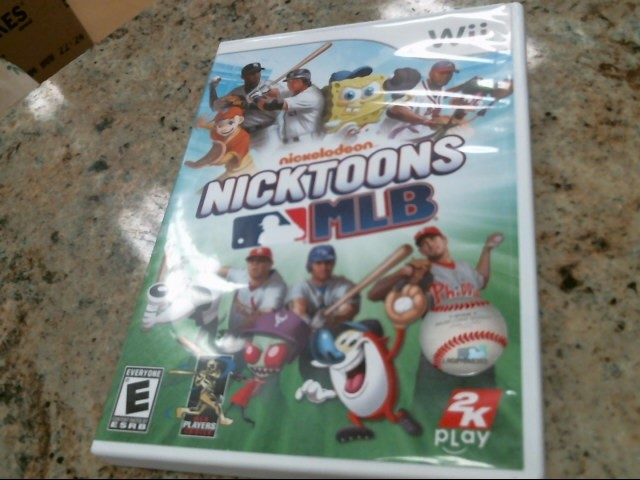 NINTENDO Nintendo Wii Game NICKTOONS MLB