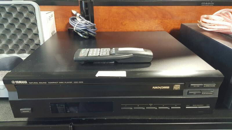 YAMAHA CD Player & Recorder CDC-505