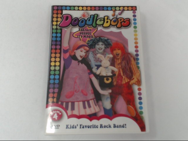 DVD MOVIE DOODLEBOPS ABRACADEE IT'S MAGIC VOL 4