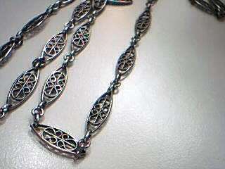 """28"""" Silver Link Chain 925 Silver 15.7g"""