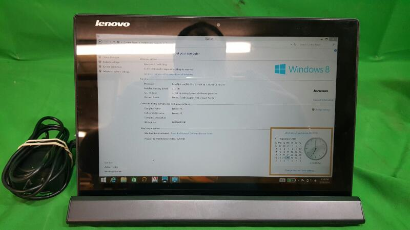 LENOVO Miix 3 10 80HV 10.1in Tablet Atom 1.33GHz 2GB 64GB w/ Keyboard