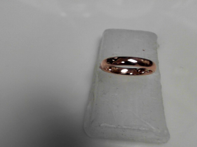 WEDDING BAND IN 18K Yellow Gold 3.3g Size:5.5