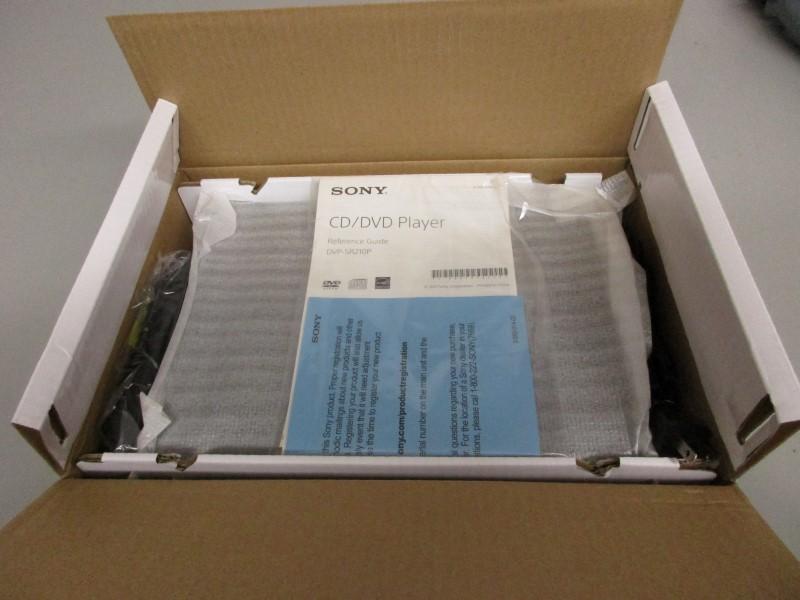 SONY DVP-SR210P DVD/CD PLAYER