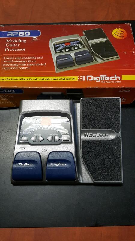 DIGITECH Effect Equipment RP80
