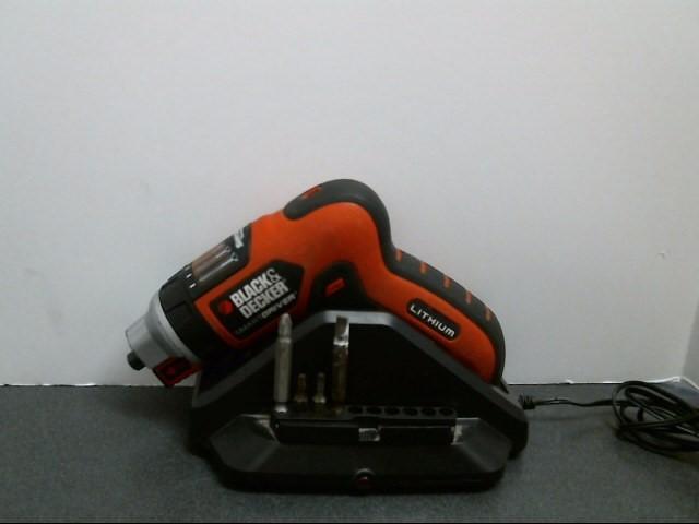 BLACK&DECKER Cordless Drill LI4000
