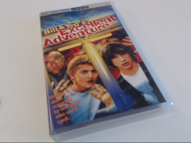 BILL & TED'S EXCELLENT ADVENTURE PSP UMD