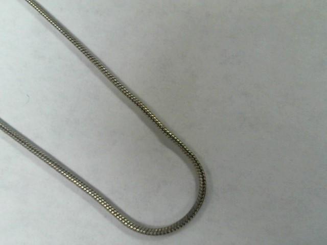 Silver Serpentine Chain 925 Silver 3.2g