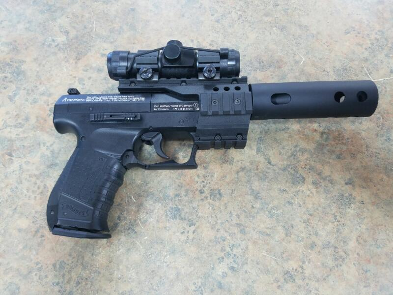 WALTHER ARMS Air Gun/Pellet Gun/BB Gun NIGHTHAWK