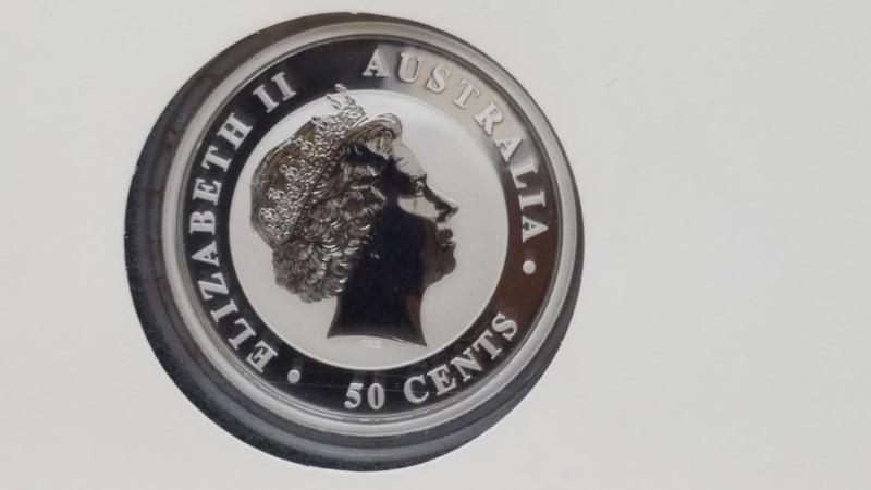 PERTH MINT Silver Coin 2012 AUSTRALIA 1 OZ SILVER YEAR OF THE DRAGON