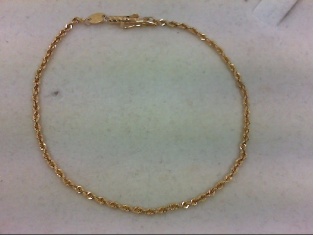 Gold Bracelet 18K Yellow Gold 2.2g