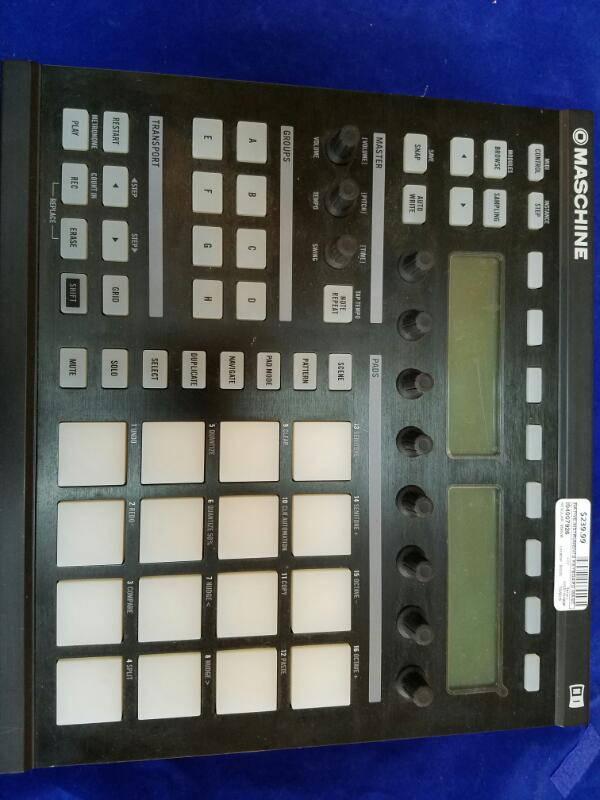 NATIVE INSTRUMENTS Keyboards/MIDI Equipment MASCHINE CONTROLLER