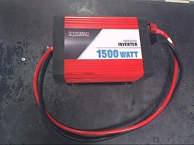 POWER TRAVELLER Battery/Charger DIGITAL POWER INVERTER 1500 WATT