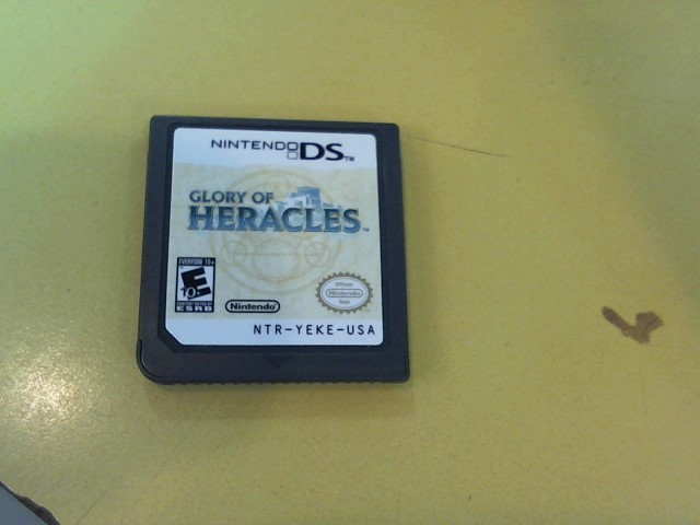NINTENDO Nintendo DS Game DS GLORY OF HERACLES