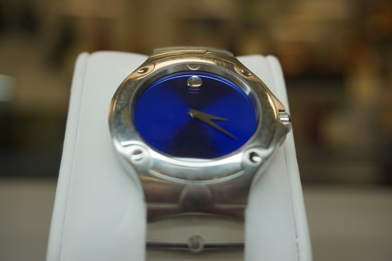 MOVADO Gent's Wristwatch 84.G1.1892 SPORTS EDITION SS