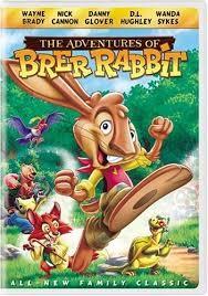 DVD MOVIE DVD THE ADVENTURES OF BRER RABBIT