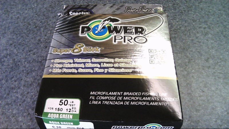 SPECTRA BY HONEY WELL Misc Fishing Gear POWER PRO 50LB 150YRDS