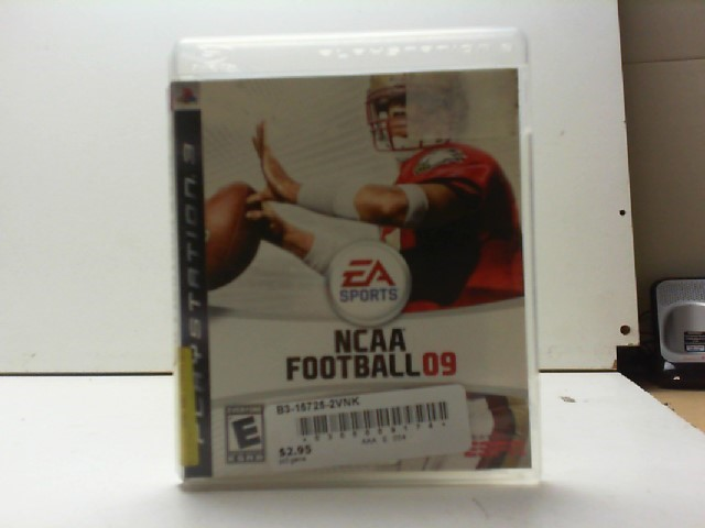 SONY Sony PlayStation 3 Game NCAA FOOTBALL 09