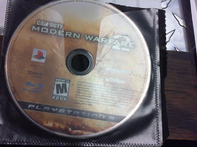 SONY PS3 CALL OD DUTY MW 2