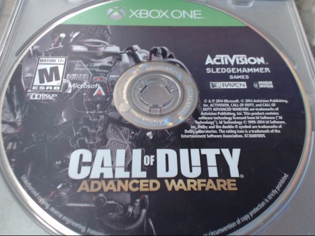 ADVANCED WARFARE XBOX ONE