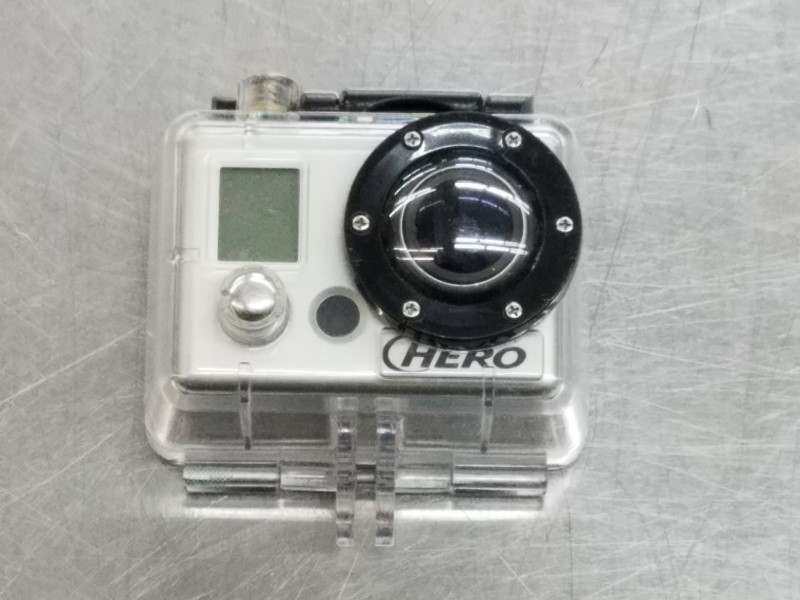 GOPRO CAMCORDER HERO WITH WATERPROOF CASE AND USB CHARGE CORD