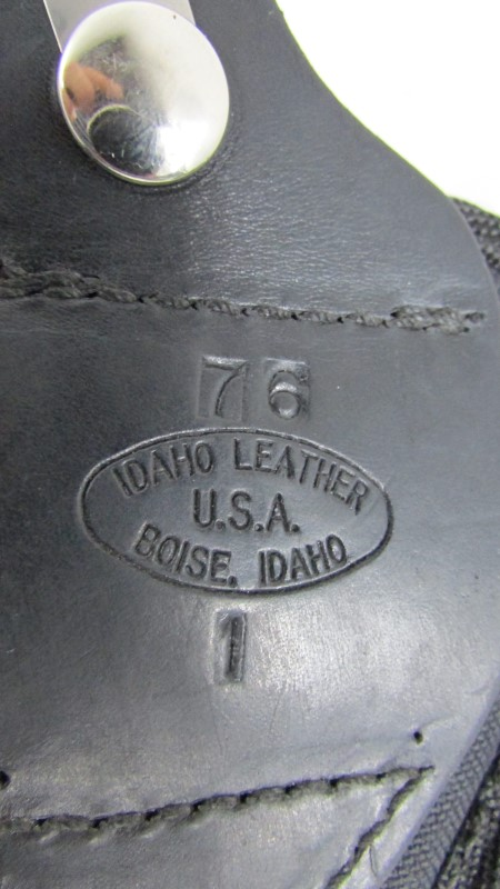 IDAHO LEATHER 76 HOLSTER