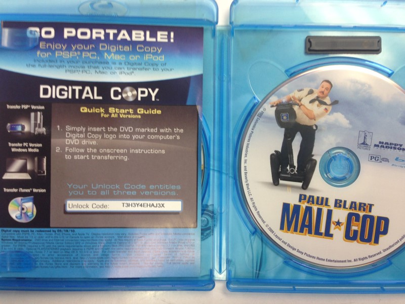 Paul Blart: Mall Cop (Blu-ray Disc, 2009)