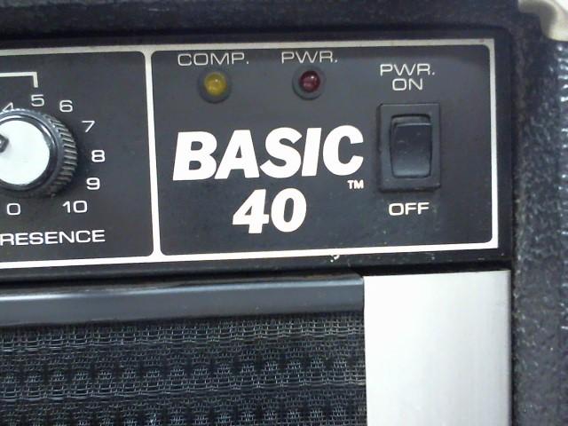 """PEAVEY Bass Guitar Amp BASIC 40 12"""" SPEAKER"""
