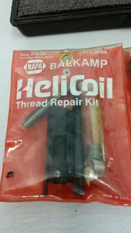 NAPA SPARK PLUG THREAD REPAIR KIT 770-3066]