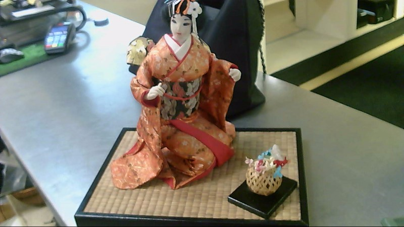 NISHI & CO. Collectible Plate/Figurine KNEELING GEISHA