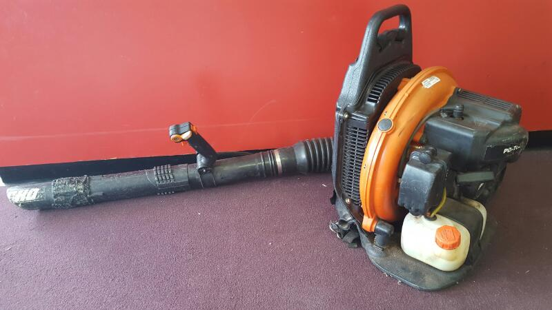 ECHO PB-755T 233 MPH 651 CFM 63.3cc Gas Backpack Leaf Blower with Tube