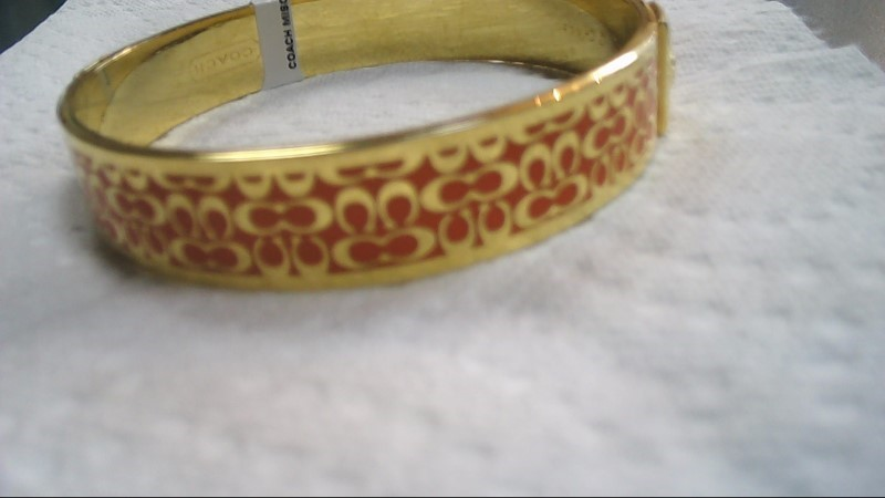 "COACH Signature 1/2"" BANGLE BRACELET"