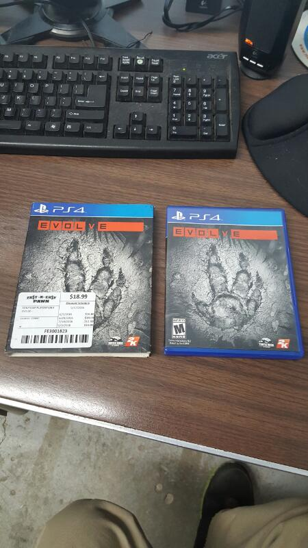 SONY Sony PlayStation 4 Game EVOLVE - PS4