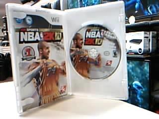 NINTENDO Nintendo Wii Game NBA 2K10