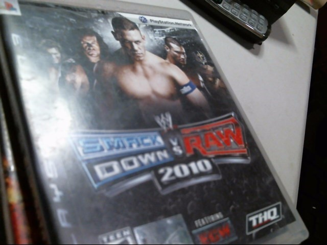 SONY PS3: SMACKDOWN VS. RAW 2010