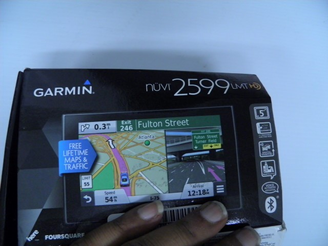 GARMIN GPS System NUVI 2599LMTHD