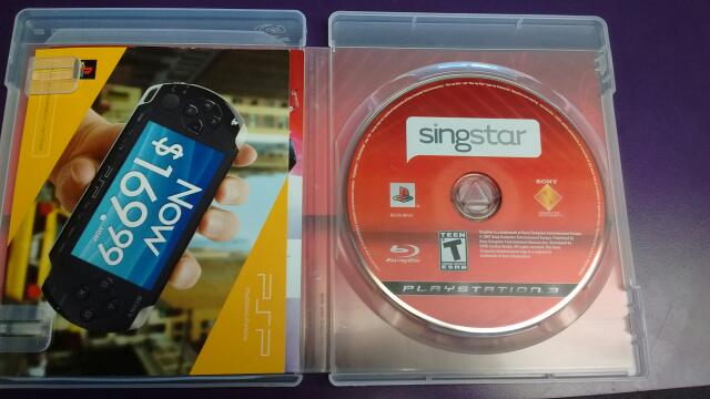 SONY PS3 GAME SINGSTAR