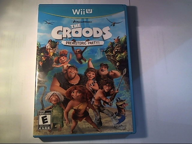 NINTENDO Nintendo Wii Game WII THE CROODS