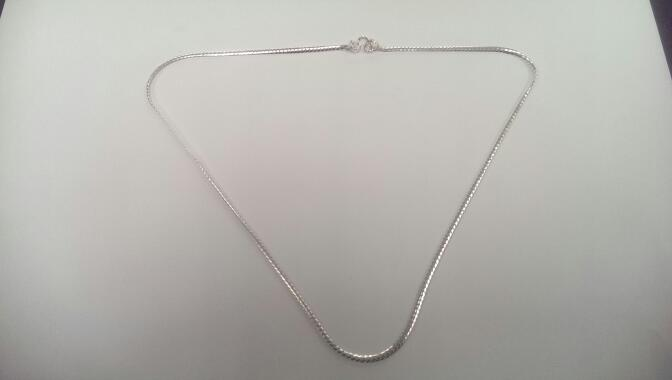"16"" Silver Chain 925 Silver 6.2g"