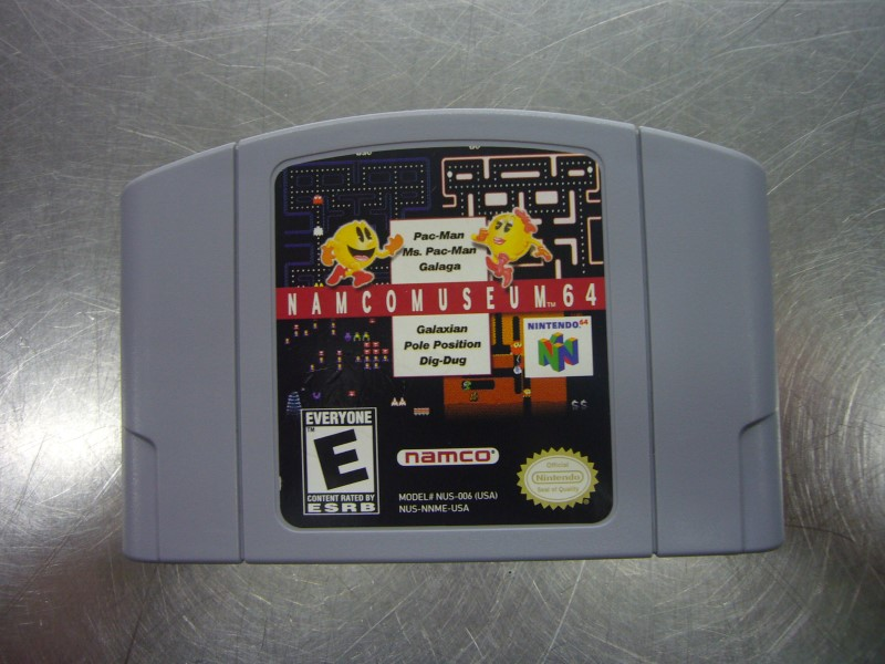 NINTENDO 64 Game NAMCO MUSEUM *CARTRIDGE ONLY*