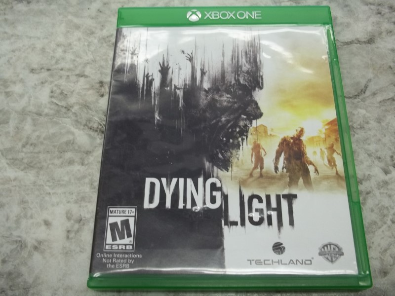 XBOX ONE GAME:  DYING LIGHT