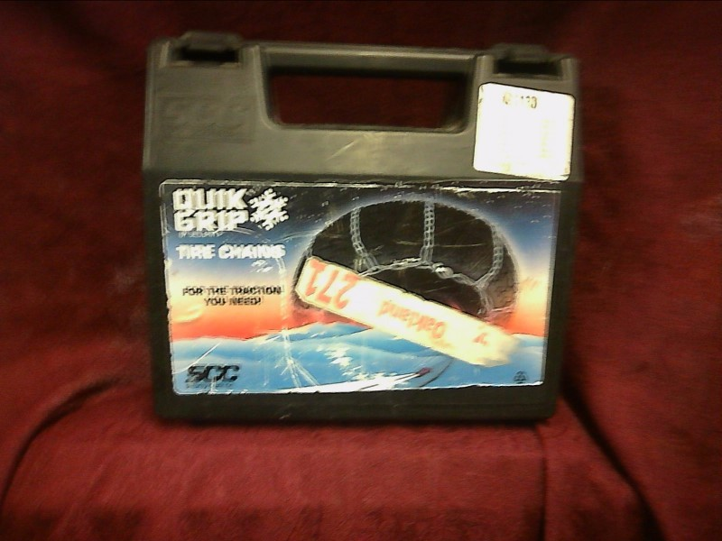 QUIK GRIP Snowmobile Part TIRE CHAIN