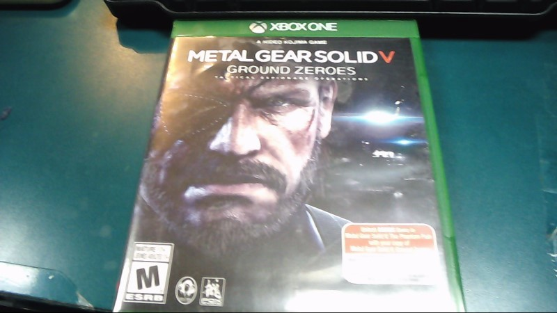 Microsoft XBOX One Game Metal Gear Solid V Ground Zeroes-Free Shipping