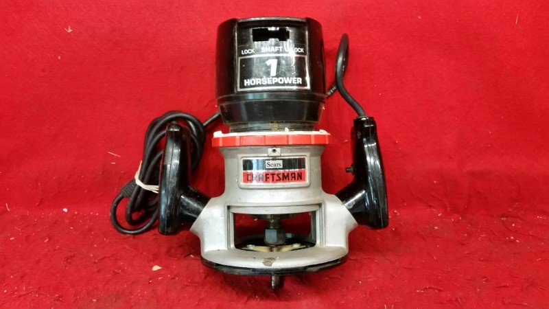 Craftsman 1hp Electric Router