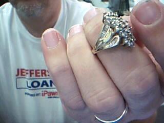 Lady's Diamond Cluster Ring 45 Diamonds 1.13 Carat T.W. 14K Yellow Gold 5.6g