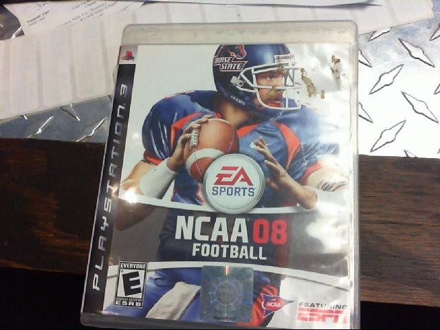 SONY PS3 GAME - NCAA 08 FOOTBALL
