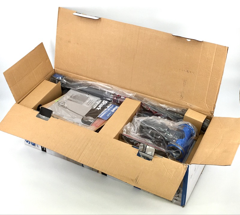 SHARK ROCKET HV300 LIGHT WEIGHT UPRIGHT VACUUM IN ORIGINAL BOX