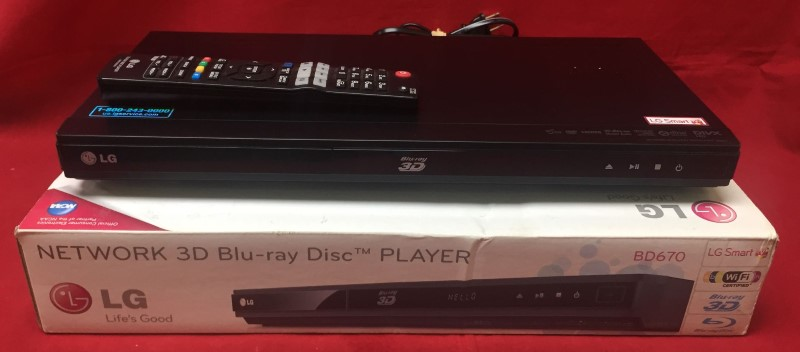 LG Home Media System BD670