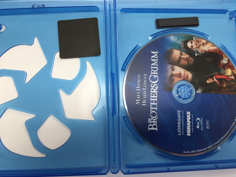 BLU RAY MOVIE THE BROTHERS GRIMM