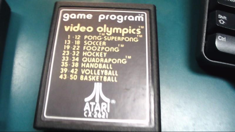 ATARI Vintage Game GAMES-21 Video Olympics